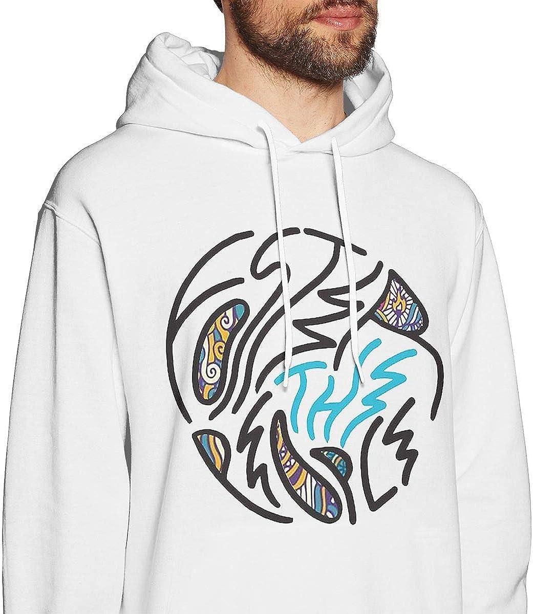 Foster The People Vintage Mens Long Sleeve Sweatshirts Mans Hoodies White