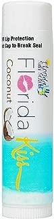 product image for Florida Salt Scrubs Florida Kiss Lip Balm, 4.2 Grams, Coconut, 4 Pack