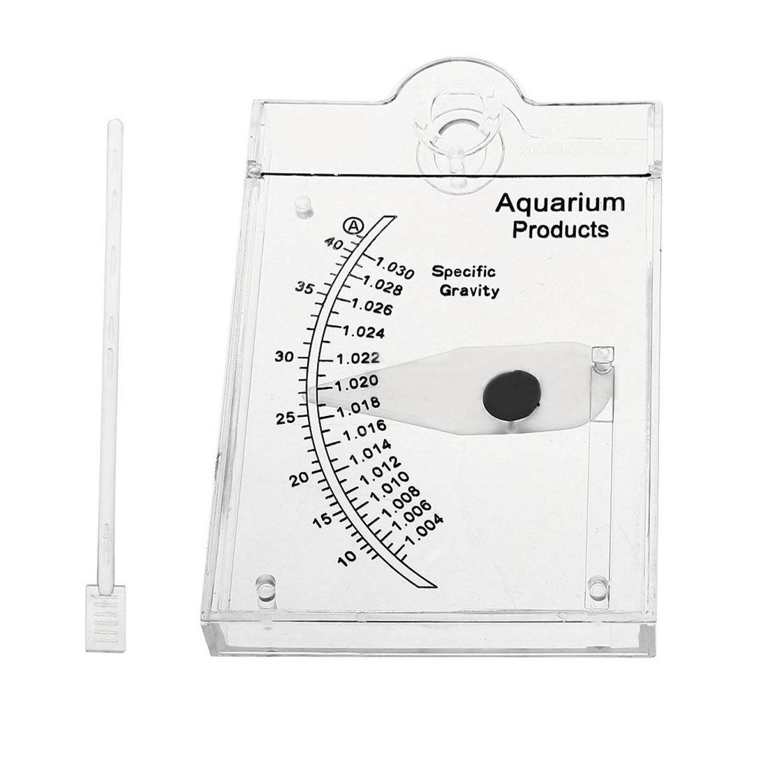 pranovo Sea Hydrometer Salinity Meter Specific Gravity Test for Aquarium Fish Tank Water Marine Sea Saltwater