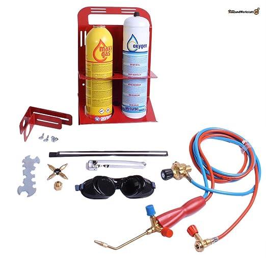 Soldadura autógena turboset dispositivo 90 para CFH + Rothenberger-oxígeno: Amazon.es: Industria, empresas y ciencia