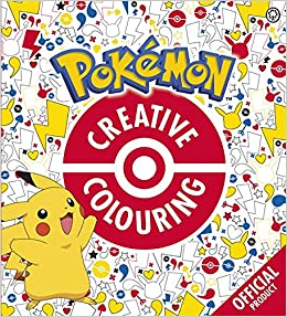 official pokmon creative colouring amazoncouk pokmon 9781408349946 books
