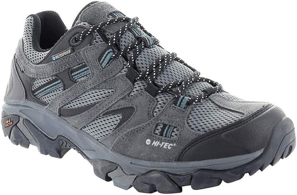 HI-TEC Mens Ravus Vent Low Waterproof Ankle-High Leather Hiking Shoe