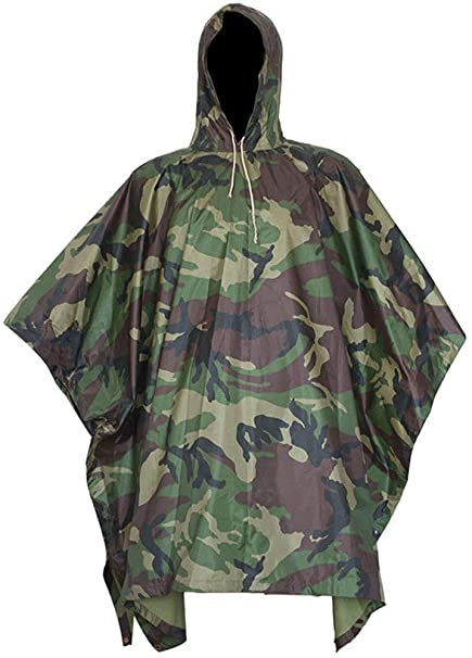Adulto Camuflaje Selva Multifunción Impermeable con Impermeables ...