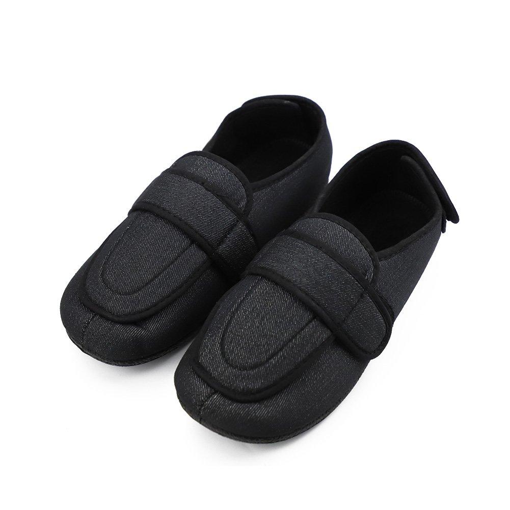 ed012792fe407 Men's Memory Foam Diabetic Slippers with Adjustable Closures,Comfy Warm  Extra-Depth & Wide Fleece Arthritis Edema Swollen House Shoes
