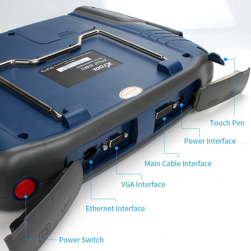 Xtool PS2 GDS gasolina coches sin caja universal coche herramienta de diagnóstico escáner de código de actualización en línea con regalo Audio Remover ...