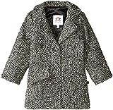 Appaman Boys' Top Coat, Black Luxe, 7