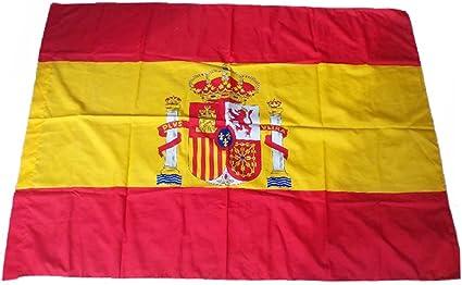 Dabuty Online, S.L. Bandera de España Grande Medidas 150 x 90 cm Bandera Nacional: Amazon.es: Hogar