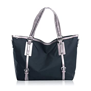 0b29881c3b37 Image Unavailable. Image not available for. Color  Mily Oversize Waterproof  Nylon Tote Bag ...