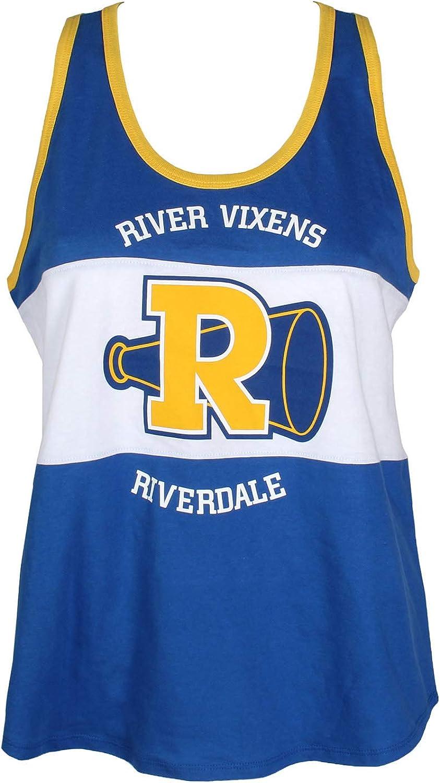 Riverdale Camiseta River Vixens Cheerleading Squad para Mujer