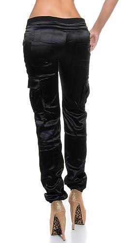 Koucla - Pantalón - para mujer negro negro L