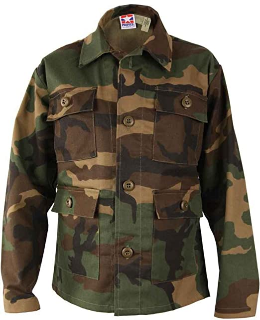 Amazon.com: Propper infantil 4-Pocket BDU Escudo – 50 N/50 C ...