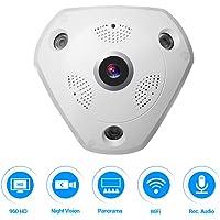 Masione 360 Panoramic WiFi Security Camera