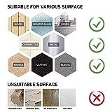 Washable Adhesive Tape, Hompie 10.5FT Traceless