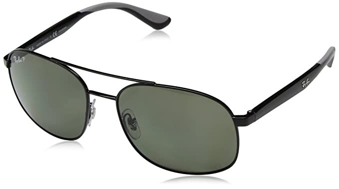 e2f9dc2ebd4071 Ray-Ban UV Protected Square Men s Sunglasses - (0RB3593002 9A58 58 ...