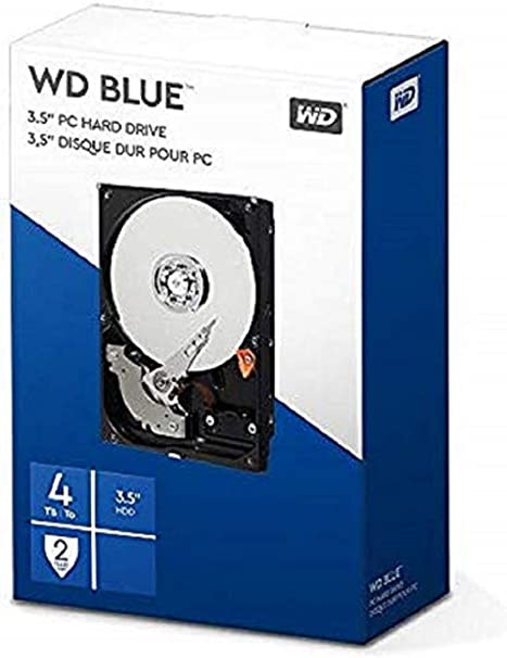 Western Digital Desktop Mainstream - Disco Duro Interno de 4 TB ...