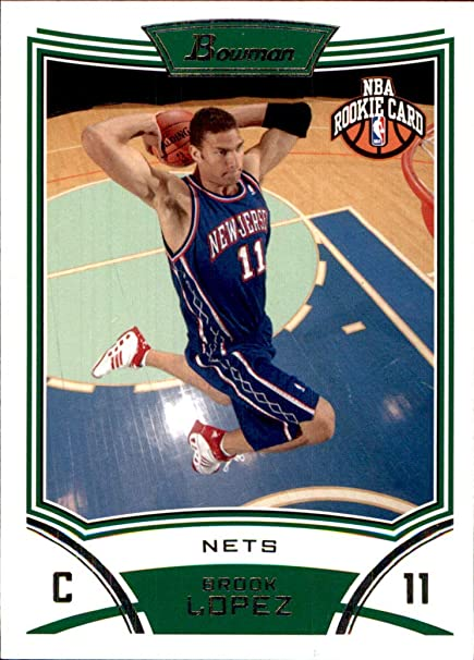 low priced d008d 0ad6f Amazon.com: 2008-09 Bowman #120 Brook Lopez RC ROOKIE NEW ...