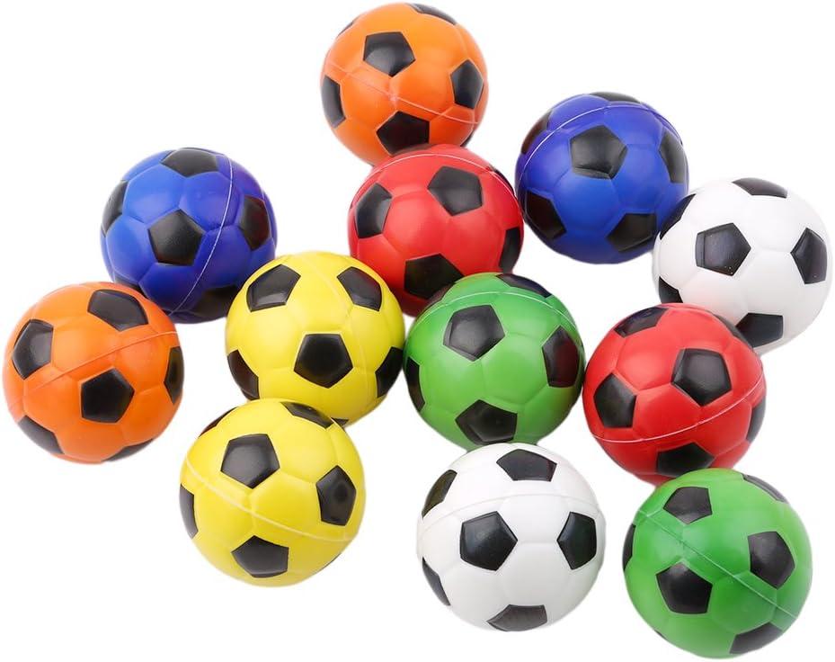 sourban mesa fútbol Foosballs repuesto Mini blanco y negro pelotas de fútbol: Amazon.es: Jardín