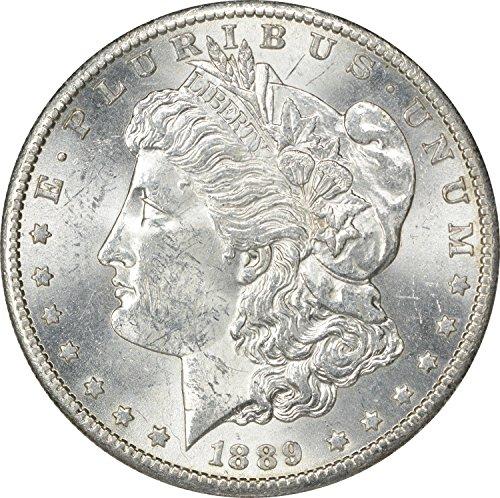 1889 S Morgan Dollar MS60