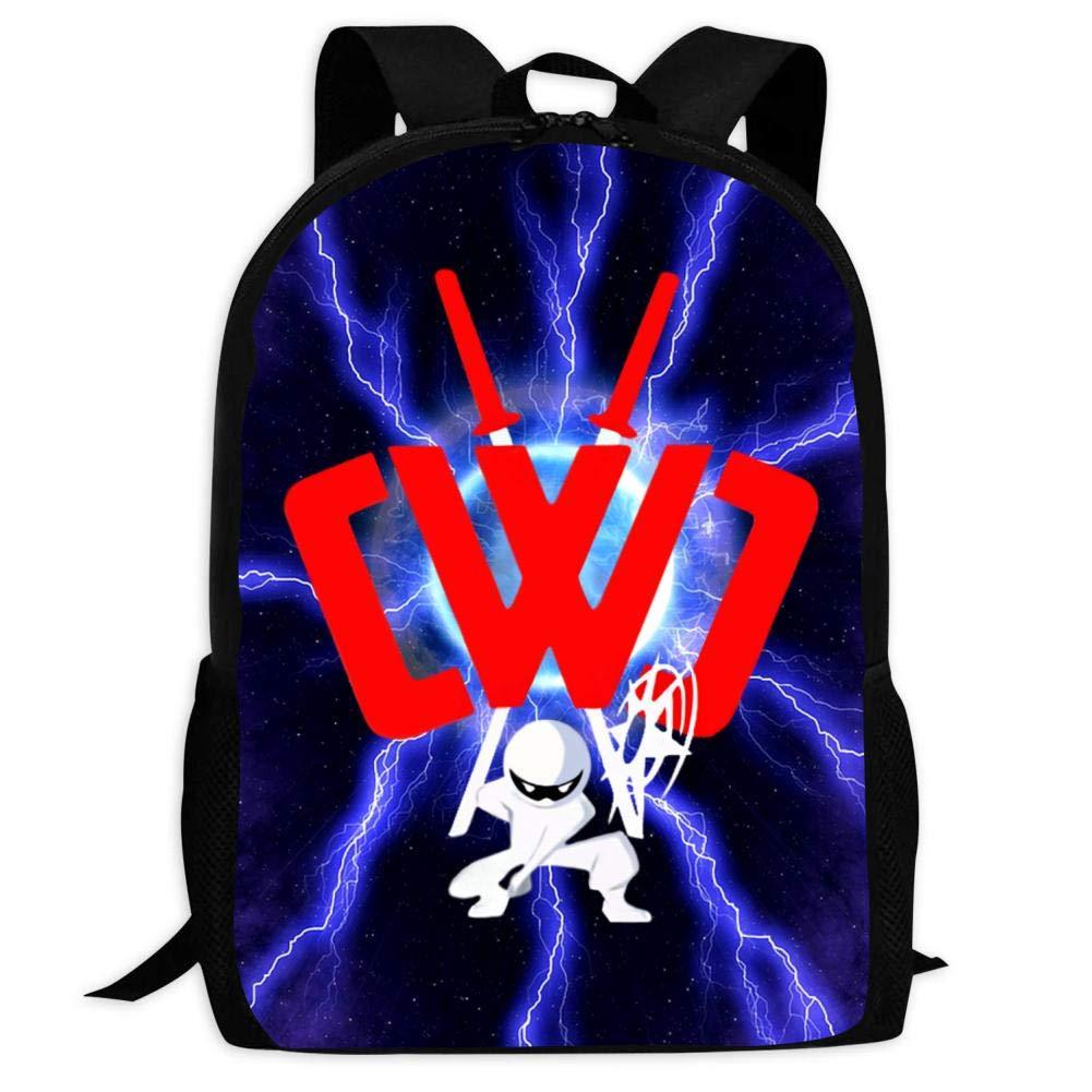 Amazon.com | GSGSDG Kids/Youth CWC Ninja School Backpacks ...