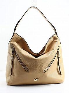 bb4a6dfbf01b MICHAEL Michael Kors Evie Large Pebbled Leather Hobo Bag: Handbags ...