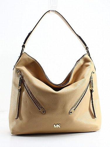 20153283bbfe MICHAEL MICHAEL KORS Evie Large Pebbled Leather Shoulder Bag ...