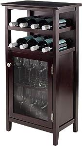 Winsome Alta Wine Storage, Espresso
