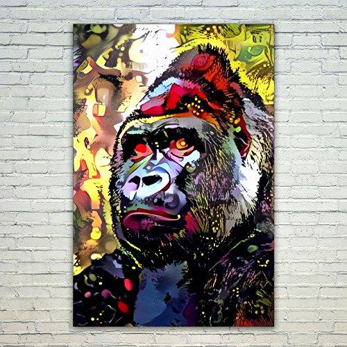 Westlake Art Western Gorilla - 24x36 Poster Print Wall Art -