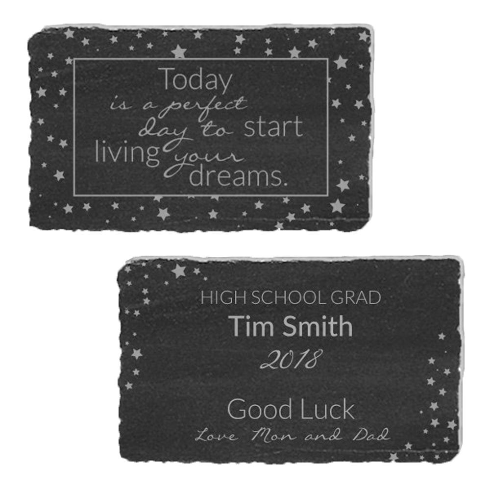 GiftsForYouNow Engraved Start Living Dreams Marble Keepsake by GiftsForYouNow (Image #1)