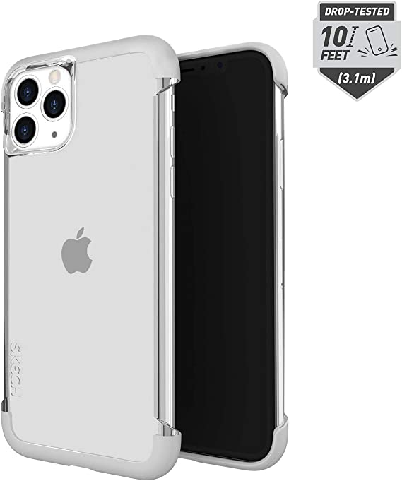 SKECH Stark Minimal Bare Tough Naked Shockproof Protective Case for Apple iPhone 11 Pro 5.8