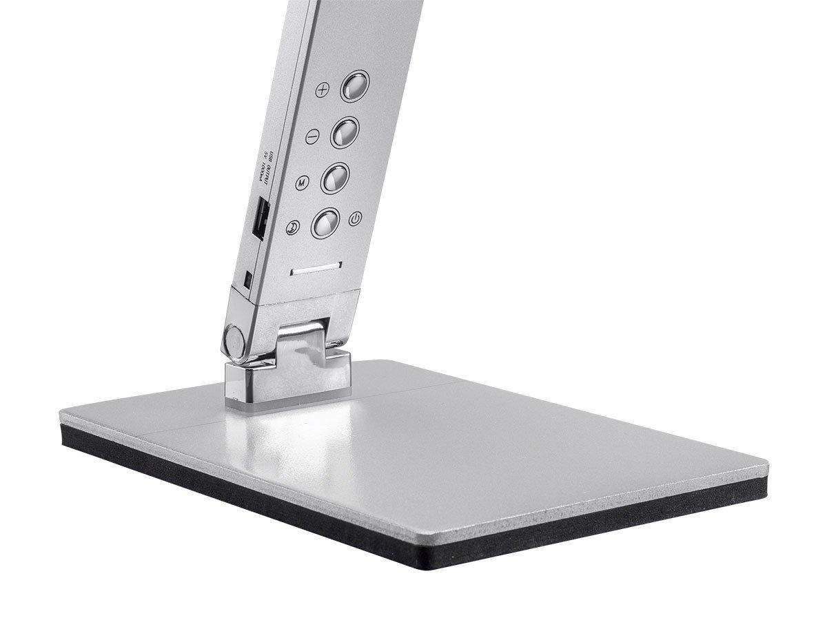 Monoprice LED Aluminum Desk Lamp, Silver - (116365) by Monoprice (Image #3)