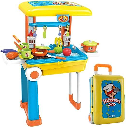 Game toy Juego de Juguetes de Cocina para niños, Juego de ...