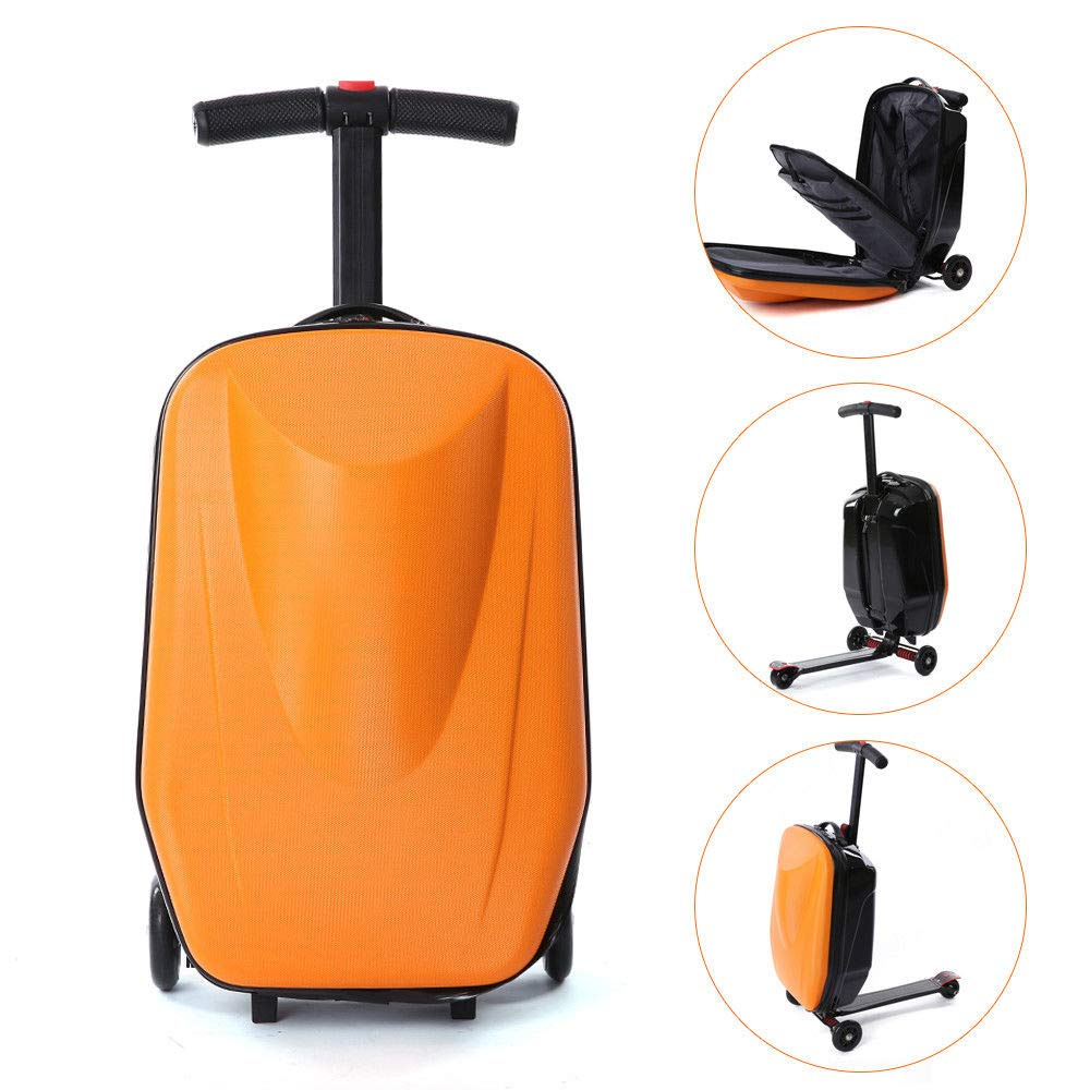 Amazon.com: BSTOOL - Scooter de equipaje, maleta de scooter ...