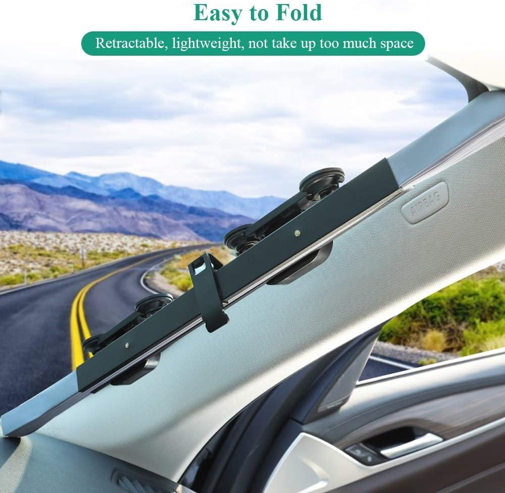Medium POVAST Retractable Car Windshield Sun Shade