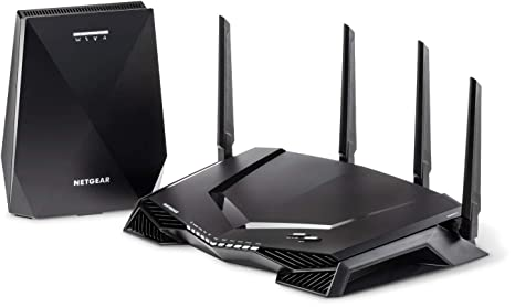 NETGEAR Nighthawk Pro Gaming XRM570 WiFi Router and Mesh WiFi System with 6  Ethernet Ports and Wireless speeds up to 2 6 Gbps, AC2600, Optimized for