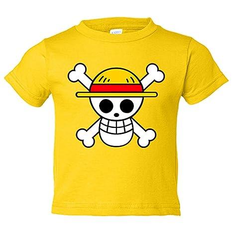 Camiseta niño One Piece logo - Amarillo, 3-4 años