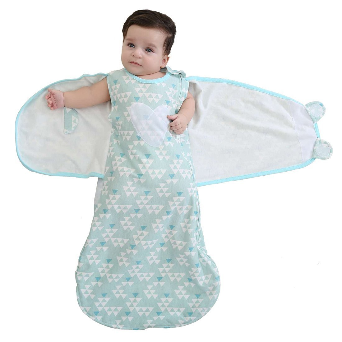 Clothing, Shoes & Accessories Baby Swaddle Wrap Up Blanket Sleeping Bag Cotton Bedding Sleepsack Care & Love
