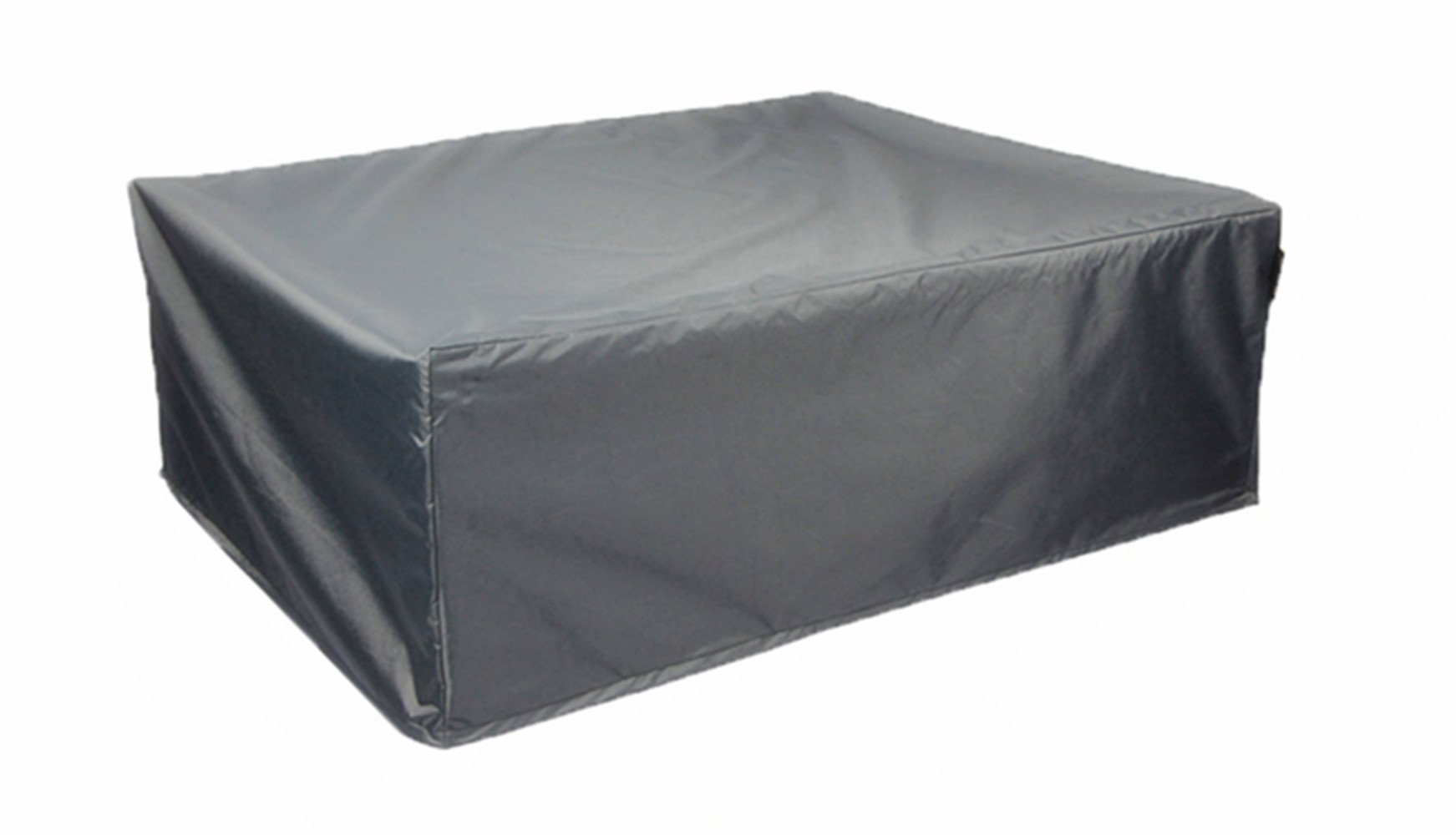 Hentex 6600 Outdoor Patio Rectangular/Oval(Sqaure) Table & Chair Set Cover,, Water Resistant, Breathable, Advanced 3 Layer Fabric(88''×58''×23'')