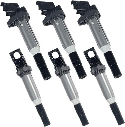 Set 6 Direct Ignition Coils Delphi Replace BMW//Mini OEM# 12138616153 2.5L 3.0L