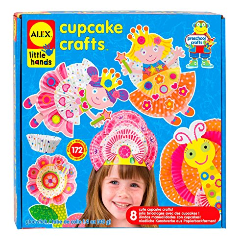 ALEX Toys Little Hands Cupcake Craft ()