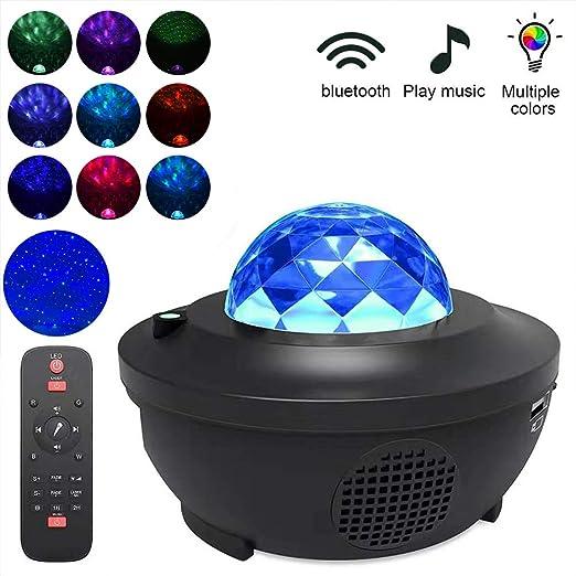 Yissma LED Music Star Projector Luz Nocturna para niños Starry Sky ...