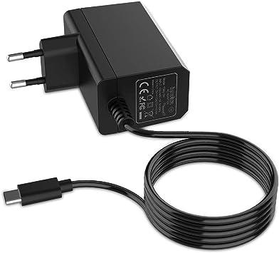 Cargador para Nintendo Switch/Switch Lite, innoAura Adaptador de ...