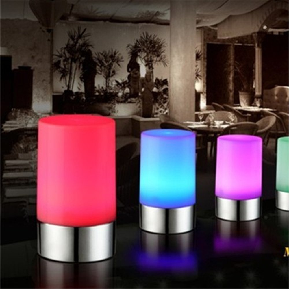 Clove battery operated cordless table lamp amazon - Amazon Com Vongem Led Rechargeable Table Lamp Widely Used In Home Hotel Restaurant Bar Ktv With Usb Cable Ten Key Remote Controller Multi Color Home