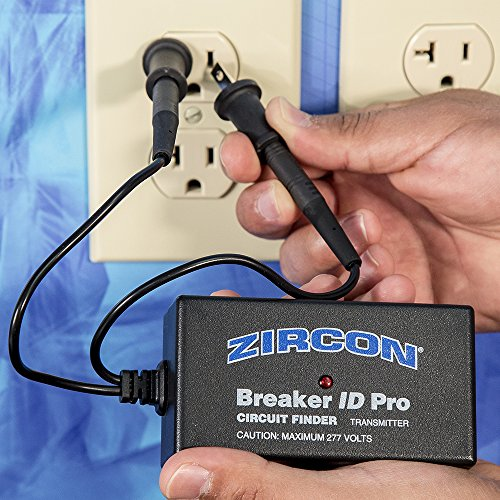Zircon Breaker ID Pro - Commercial and Industrial Complete Circuit Breaker Finding Kit / Compatible with Outlets up to 270 Volts / Professional Accessories Included FFP by Zircon (Image #2)