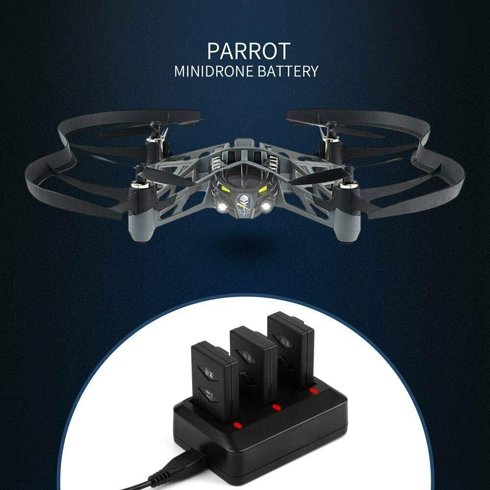YX Parrot Minidrone hub de cargador, Parrot MiniDrones Puerto USB ...