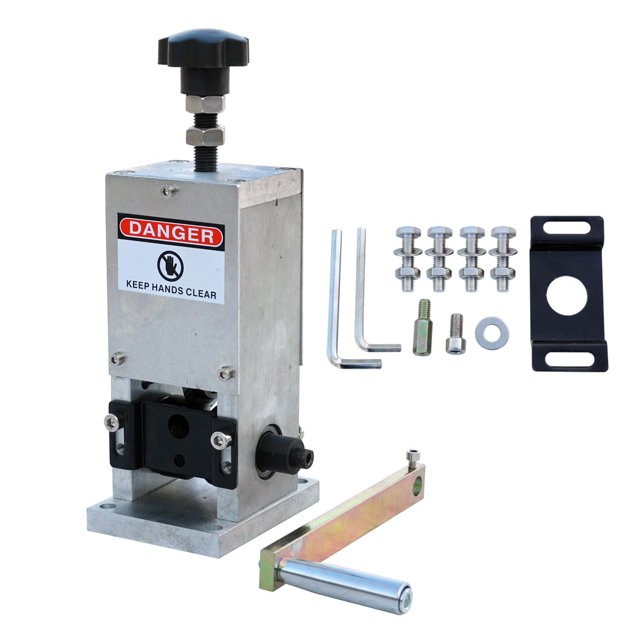 ECO LLC Durable Copper Wire Stripping Machine Hand Crank Drill Operated Cable Stripper