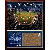 Steiner Sports MLB New York Yankees Original Stadium 8x10-Inch Dirt Plaque