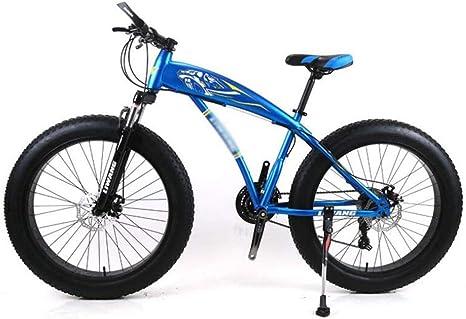WJSW Bicicleta de montaña, 7/21/24/27 Velocidades 24 Pulgadas ...