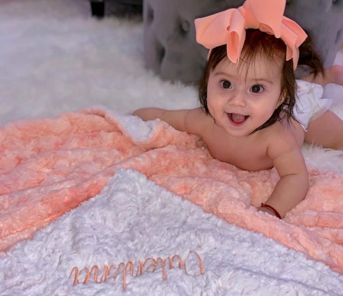 Newborn blanket set Beauty in Peach.