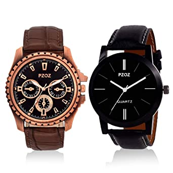3c59e3bf97 Buy LOSIAN Analogue Black Dial Men's Watches Online at Low Prices in ...
