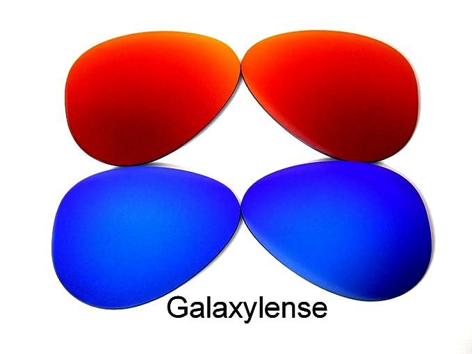 Lentes de repuesto para Gafas Ray-Ban RB3025 Azul/ Rojo 62mm ...
